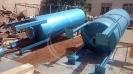 مخزن ضربه گیر 2900 لیتری 16 بار تصفیه خانه مهاباد